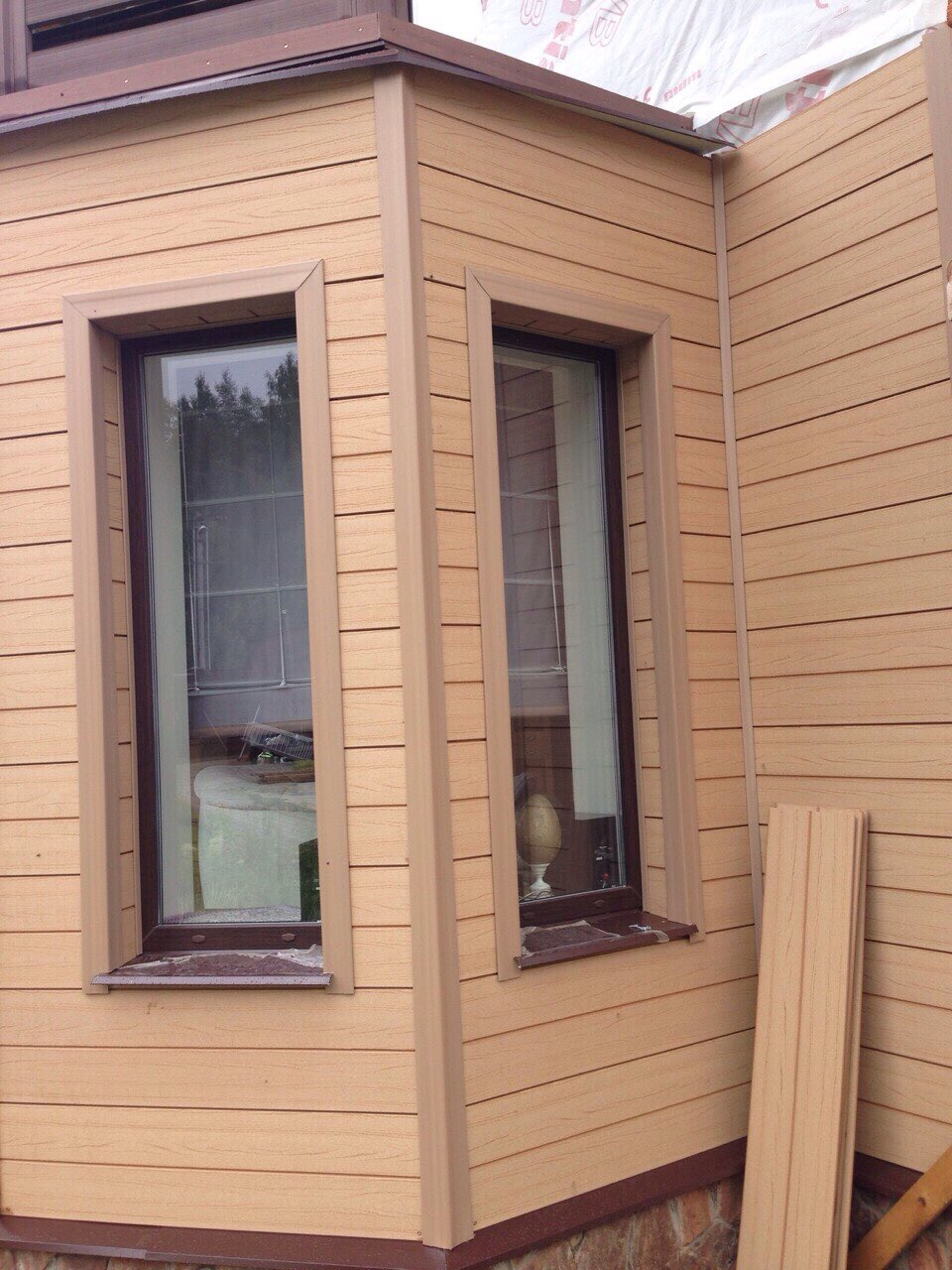 Вентилируемые фасады Террадек натур